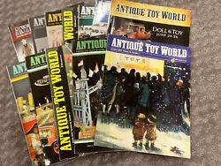 Antique Toy World Magazine 2016 - All 12 Issues - Banks/trucks/cars/robots/doll