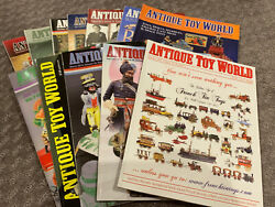 Antique Toy World Magazine 2015 - All 12 Issues - Banks/trucks/cars/robots/doll