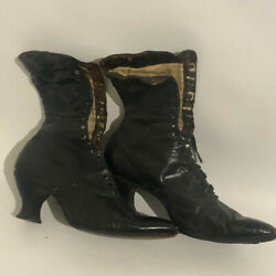 Vintage Womans Boots 1880and039s Early 1900and039s