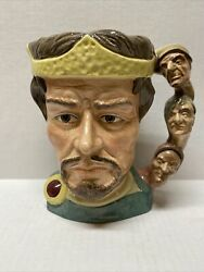 Royal Doulton Shakespearean Collections Macbeth Heads Handle 1982 D6667
