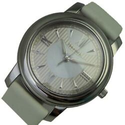 And Co Mark Round Z0046.17.10a91 Ladies White Dial Qz From Japan [e1119]