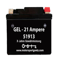Motorcycle Battery Gel 51913 12v 21ah Bmw R850 R1100 R1150 Gs K1200 With Abs