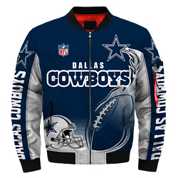 Dallas Cowboys Menand039s Pilot Bomber Jacket Flying Tigers Flight Thicken Coat Gifts