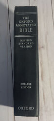 Vintage The Oxford University Press Annotated Bible Rsv 1962 - Excellent