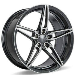 4ea 20 Ace Alloy Wheels Aff01 Gloss Grey With Machined Face Rimss45