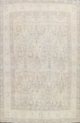 Muted Semi Antique Traditional Distressed Handmade Area Rug Wool Oriental 10x13