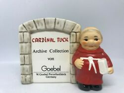 Goebel Red Friar Tuck Monk Archive Collection Von-signboard Display Plaque