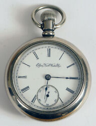 Antique Elgin National Watch Company Pocket Watch - Nice Condition Not Running