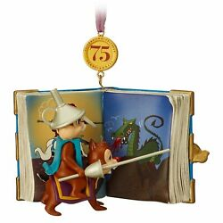 Chip And039n Dale Legacy Sketchbook Ornament 2018 Limited Release 75th Brand New And