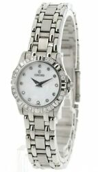 Concord Saratoga Mop Dial Diamond Bezel And Markers Ladies Watch 0309395