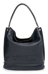 Nwt Longchamp 3d Leather Hobo Large Shoulder Bag Midnight Blue 800+ Authentic