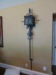 TWO Wrought Iron Wall Sconces