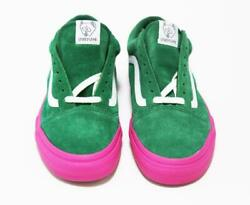 New 2014 Syndicate Old Skool Pro S Golf Wang Sneakers Green Pink 26.5cm