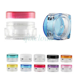 3g 5g Empty Crown Jars Cosmetic Cream Lotion Gel Storage Container Travel