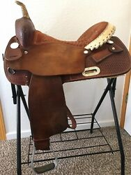 """Billy Cook Barrel Saddle 15"""" FQHB Price Is Shipped"""