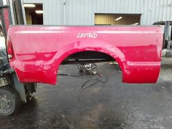 + 2bdtred Ford F250 Truck Bed Box Super Duty Short Bed Red Nice Southern
