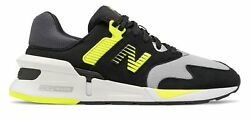 New Balance Men#x27;s 997 Sport Shoes Black with Green