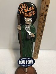 Blue Point Howling Bastard Beer Tap Handle. New York