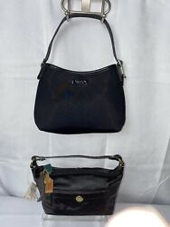 2x 🔥Coach 🔥Black Handbags Mini Used $22.00
