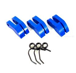 HSP 081008 Blue Aluminum Clutch Shoes amp; Springs for Redcat Avalanche Hurricane $8.99