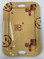 Tan Melamine Serving Tray Made In Italy