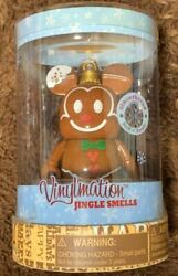 Disney Vinylmation Figure Gingerbread Mickey Mouse With Box From Japan Unopened