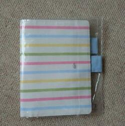 HOBONICHI COVER PASTEL BORDER IVORY ORIGINAL BUTTERFLY STOPPER FROM JAPAN*T1001 $88.22