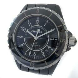 J12 Menand039s Automatic Black Ceramic Stainless Steel From Japan [e1127]