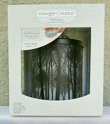 Yankee Candle TWILIGHT SILHOUETTES LIGHT UP SCENTERPIECE WARMER w Timer