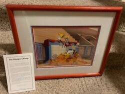 Disney Serigraph Cel Olympic Champ Limited Edition 28/500