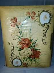 Antique Victorian Photo Album Filled With Photos, Tin Types Late 1800s