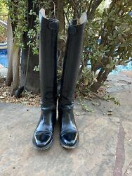 Effingham 100l Tall Boots Size 10 With Zipper