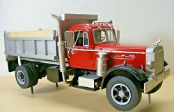 Mack Lt Single Axle Dump Truck 1/25th Scale By A.i.m Resin Cast Price Reduced
