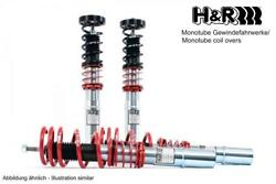 Handr Mono-tube Coilover 30-50 Mm Front Lowering For Dodge Challenger Since 2011