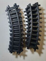 Eztec Silverado Express Train Lot Of 12 Curved Train Tracks Old Style G Scale