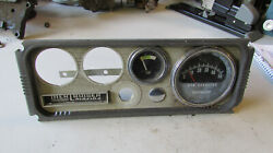 1969 Mercruiser Marine Boat Tachometer Tach And Temp Gauges For Parts Or Repair