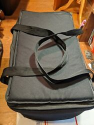 Sterno Black 13 X 22 X 14 Deluxe Insulated Food Bag Carrier Skip The Dishes
