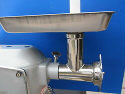 Stainless Steel Meat Grinder For Hobart, Univex, Mixer Motors. Size 12 A200