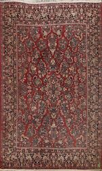 Antique Floral Traditional Hand-knotted Area Rug Dining Room Oriental Wool 9x12