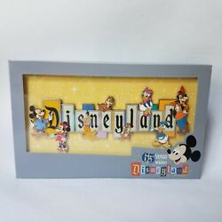 Disneyland Park 65th Anniversary Marquee Boxed Jumbo Pin Limited Edition Gift