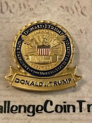 Potus 45th President Donald J Trump White House 3rd Issue Challenge Coin Maga