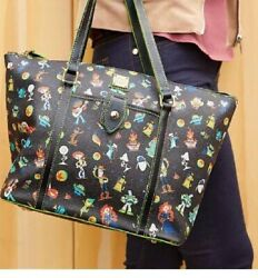 Very Rare Dooney And Bourke Tote Bag Pixar Collaboration For Woman Unused