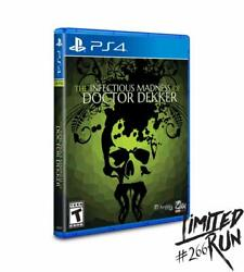 The Infectious Madness Of Doctor Dekker - Playstation 4 - Limited Run Games 266