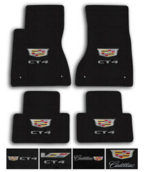 Lloyd Mats For 20-up Cadillac Ct4 Luxe Carpet Luxury Floor Mats - Logo And Color