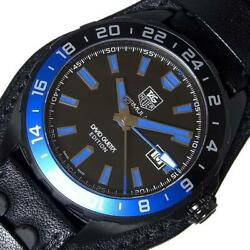 Tag Heuer Formula 1 Waz201a.fc8195 Automatic Menand039s Black Dial From Japan [e1203]