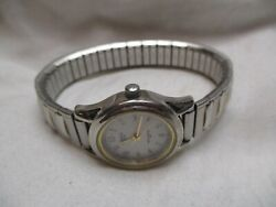 Carriage By Timex Analog Wristwatch With Water Resistance And An Expansion Band