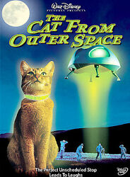 The Cat From Outer Space DVD DISNEY
