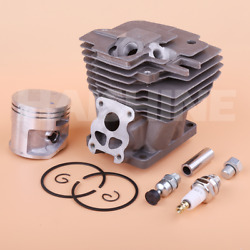 52mm Big Bore Cylinder Piston Kit For Stihl Ms441 Ms441c Chainsaw Spark Plug