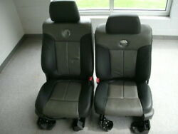Ford F-150 Harley Davidson Leather Front And Rear Seats