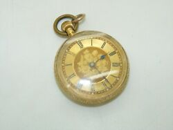 18k Yellow Gold Collectible Pocket Watch